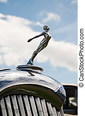Riley classic car symbol