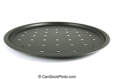 Rim Pizza Pan isolated on white