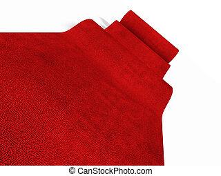 rimbombante, moquette rossa