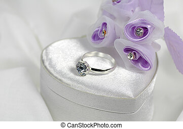 ring, 2, diamant