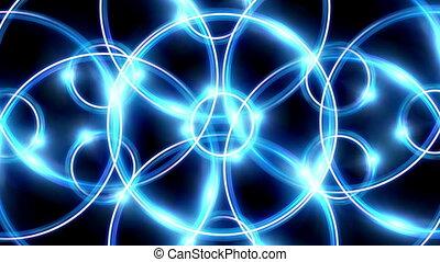 ring flare cross pattern blue HD