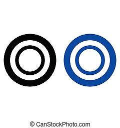 Ring outline icon
