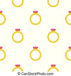 Ring pattern seamless