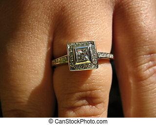 ring, verlobung , sitte