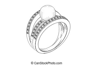 ring, wedding