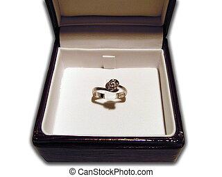 Ring with diamond 2