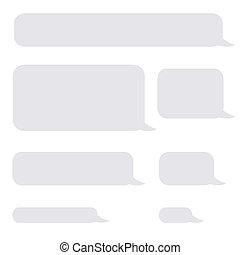 ringa, bubblar, sms, bakgrund, pratstund