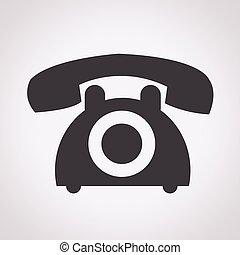 ringa, gammal, ikon