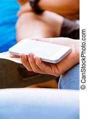 ringa, teenagers, mobil