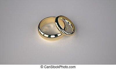 ringe, gelber , gold, wedding