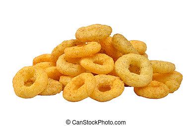 ringen, beeld, namkeen, fryums, &, snack