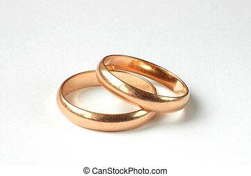 ringen, trouwfeest