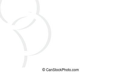 ringer, -, tegn, olimpic, vektor, baggrund, bryllup, hvid,...