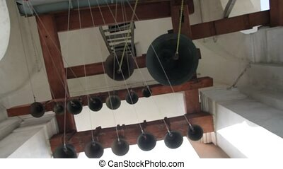 Ringing of a bells in orthodox church
