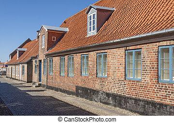 Ringkobing old beauty town in Denmark.