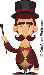 Ringmaster - Cartoon Character