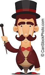Ringmaster - Cartoon Character