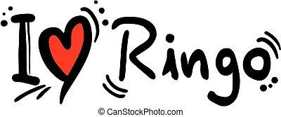 ringo, amore