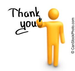ringraziare, you!