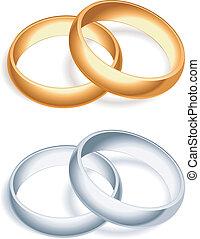 rings., boda