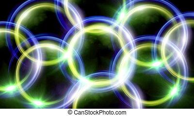 rings lens overlap - beautiful ring lens flare effect is...