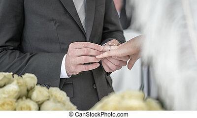 rings., matrimonio