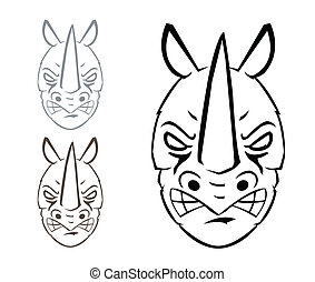 rinoceronte, mascote