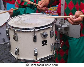 Rio Brasil Samba Cranival music played on drums