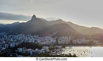 Rio de Janeiro, as seen from sugarloaf mountain