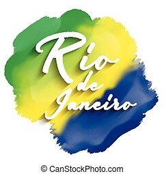 rio de janeiro background - Rio de Janeiro text on a...