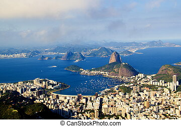 Rio de Janeiro, Brazil - July 21, 2014: Panoramic of...