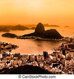 Rio de Janeiro, Brazil - Rio de Janeiro, Brazil. Suggar Loaf...