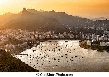 Rio de Janeiro, Brazil - View from Sugar Loaf
