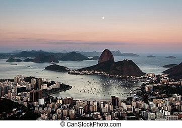 Rio de Janeiro by Sunset
