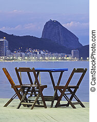 Rio de Janeiro - Brazil, City of Rio de Janeiro, Twilight...