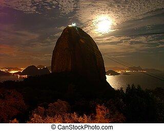 Rio de Janeiro - Sugar Loaf @ Night