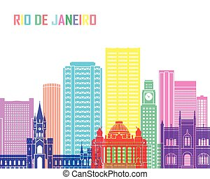 Rio de Janeiro V2 skyline pop