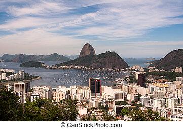 Rio de Janeiro View and Sugarloaf Mountain