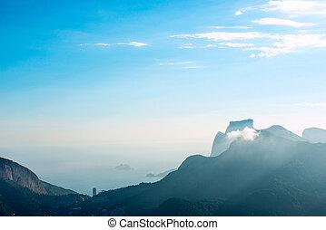 Rio de Janeiro, view from Corcovado