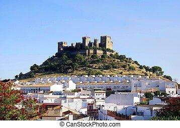 Rio, Espanha,  de,  del,  castillo,  almodovar