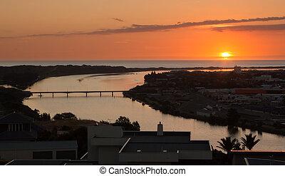 rio, whanganui, sundown