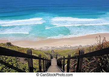 Rip current at Sand Patch Western Australia