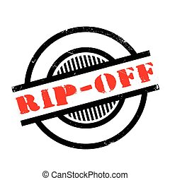 Rip-Off rubber stamp