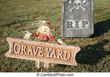 RIP Tombstone and Scarecrow