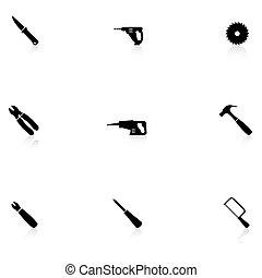 riparazione casa, icone