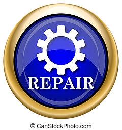 riparazione, icona