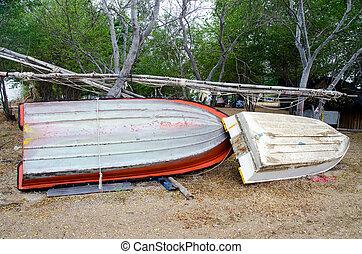 riparazione, manutenzione, barca