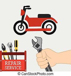 riparazione, servizio