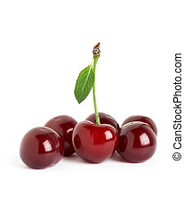 Ripe cherries