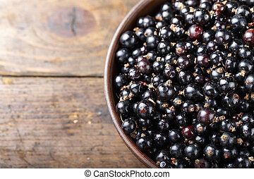 ripe currant place for text